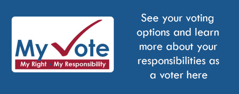 Learn more about your options and responsibilities as a voter here
